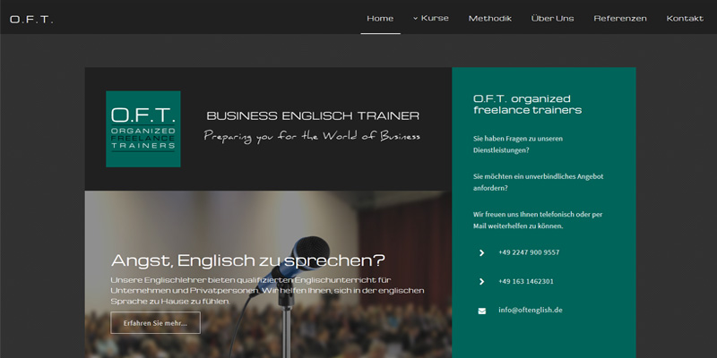 O.F.T. business english training